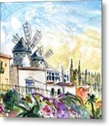 Palma De Mallorca Panoramic 03 Metal Print