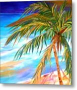 Palma Tropical II Metal Print