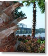 Palmetto Tree Metal Print