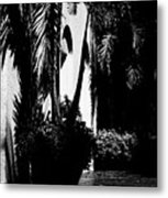 Palms And Arches Metal Print