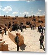 Palmyra-theater Metal Print
