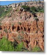 Palo Duro Canyon Amarillo Texas Metal Print