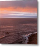 Palos Verdes At Sunset Metal Print