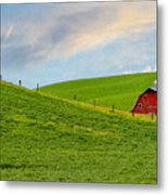 Palouse Barn Metal Print
