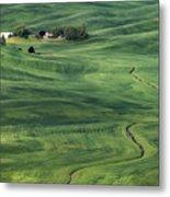 Palouse Green Fields Metal Print