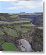 Palouse River Canyon Metal Print