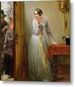 Palpitation Metal Print by Charles West Cope