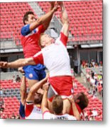 Pamam Games Men's Rugby 7's Metal Print
