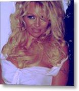 Pamela Anderson Metal Print