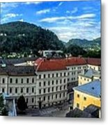 Pamramic Of Salzburg  Metal Print