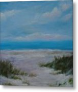 Panama City Beach I Colors Of The  Gulf Coast Metal Print