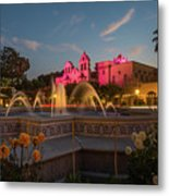 Panama Fountain Metal Print
