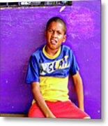 Panama Kids 967 Metal Print