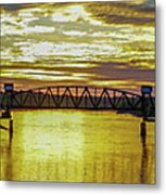 Panaroma Katy Bridge Metal Print