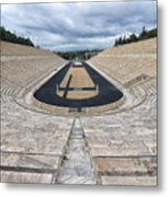 Panathenaic Stadium In Athens, Greece Metal Print