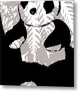 panda XXX Metal Print
