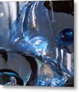 Panel 2 from Swirl Metal Print