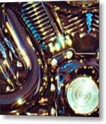Panel II From Mechanism Metal Print