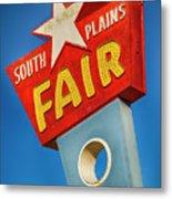 Panhandle South Plains Fair Sign Metal Print