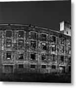 Pano Of The Fort William Starch Company At Sunset Metal Print