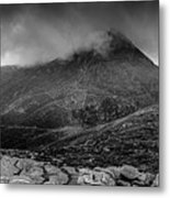 Panorama From Slievenaglogh Metal Print
