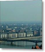 Panorama Of Budapest Metal Print
