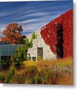 Panorama Of New Modern Building At Toronto Botanical Garden In E Metal Print