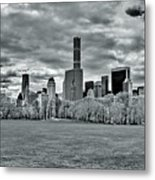 Panorama Of New York City Metal Print