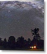 Panorama Of The Southern Night Sky Metal Print