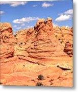 Panoramic Desert Landscape Fantasyland Metal Print