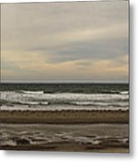 Panoramic Of Nantasket Beach Metal Print