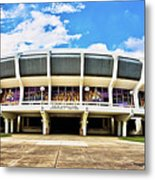 Panoramic P Mac Metal Print