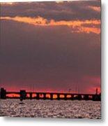 Panoramic Sunset 3-18-2016 V2 Metal Print