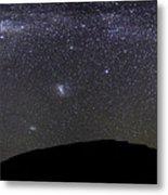 Panoramic View Of The Milky Way Metal Print