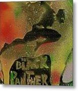 Killmonger Vs Tchalla Metal Print