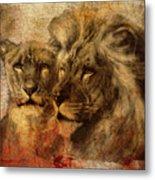 Panthera Leo 2016 Metal Print