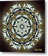 Panthera Tigris Kaleidoscope Metal Print