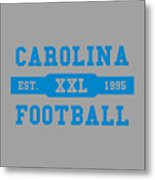 Panthers Retro Shirt Metal Print