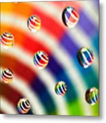 Pantone Bubbles Metal Print