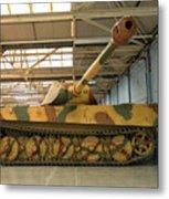 Panzer Vi Tiger Tank In Bovington, Uk Metal Print