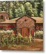 Paoletti  Estates Winery Metal Print