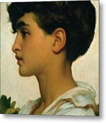 Paolo Metal Print by Frederic Leighton