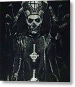 Papa Emeritus II Metal Print