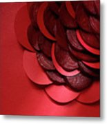 Paper And Beets Metal Print