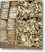 Paper For Recycling Metal Print