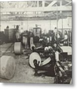 Paper Mill Metal Print