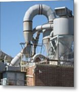 Paper Recycling Plant 1 Metal Print