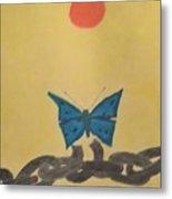 Papillon Metal Print