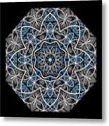 Papilloz - Mandala Metal Print