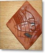 Papyrus - Tile Metal Print